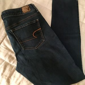 Size 10 Straight AE Jeggings